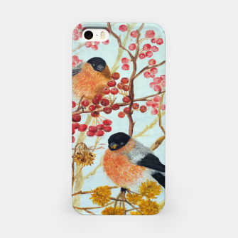 Miniatur Bullfinches_oil iPhone Case, Live Heroes
