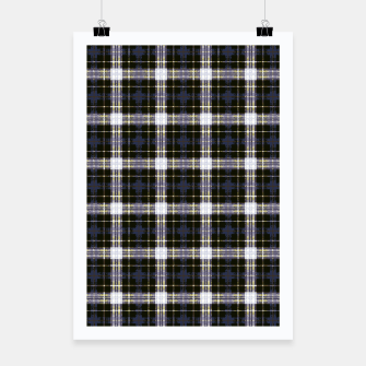 Thumbnail image of Digital Plaid 1 Poster, Live Heroes