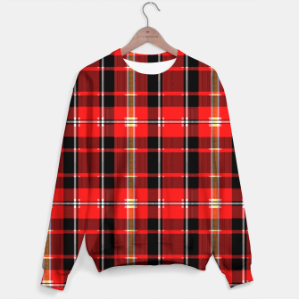 Thumbnail image of Digital Plaid 2 Sweater, Live Heroes