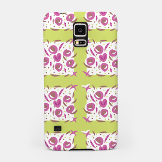 Thumbnail image of Green Cherries Abstract Pattern Samsung Case, Live Heroes