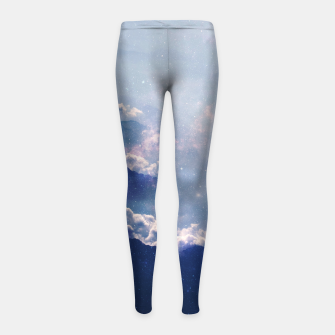 Thumbnail image of Space Within Girl's Leggings, Live Heroes