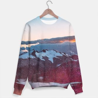 Wander Love - Winter landscape photography Sweater obraz miniatury