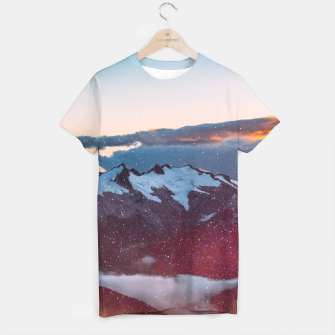 Wander Love - Winter landscape photography T-shirt obraz miniatury
