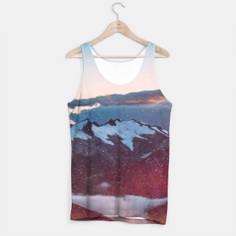 Wander Love - Winter landscape photography Tank Top obraz miniatury