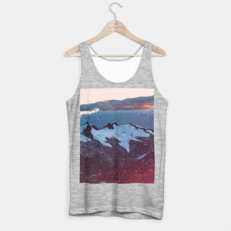 Thumbnail image of Wander Love - Winter landscape photography Tank Top regular, Live Heroes