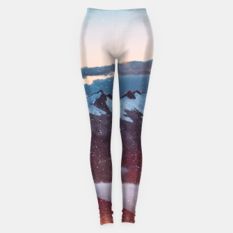 Wander Love - Winter landscape photography Leggings obraz miniatury