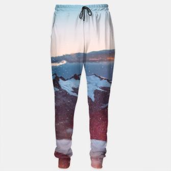 Wander Love - Winter landscape photography Sweatpants obraz miniatury
