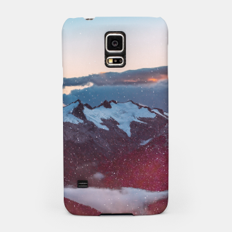 Wander Love - Winter landscape photography Samsung Case obraz miniatury