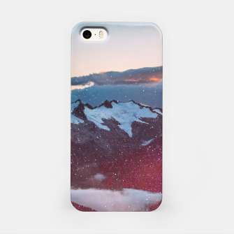 Wander Love - Winter landscape photography iPhone Case obraz miniatury