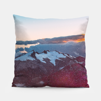 Wander Love - Winter landscape photography Pillow obraz miniatury