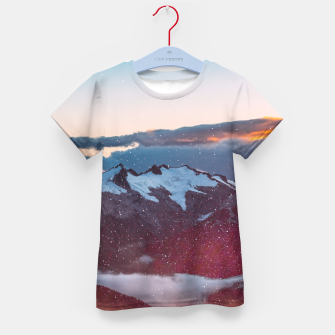 Wander Love - Winter landscape photography Kid's T-shirt obraz miniatury