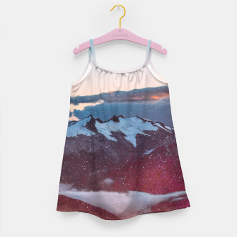Miniaturka Wander Love - Winter landscape photography Girl's Dress, Live Heroes