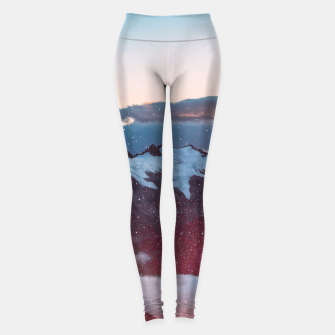 Miniaturka Wander Love - Winter landscape photography Leggings, Live Heroes
