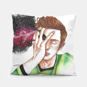 Thumbnail image of Don't contain yourself Pillow, Live Heroes