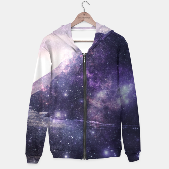 Thumbnail image of Space Mountains Zip up hoodie, Live Heroes