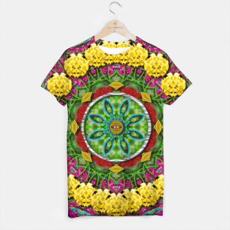 Miniatur  Bohemian chic in fantasy style T-shirt, Live Heroes