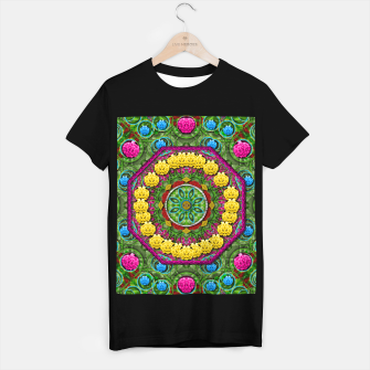 Miniatur  Bohemian chic in fantasy style T-shirt regular, Live Heroes
