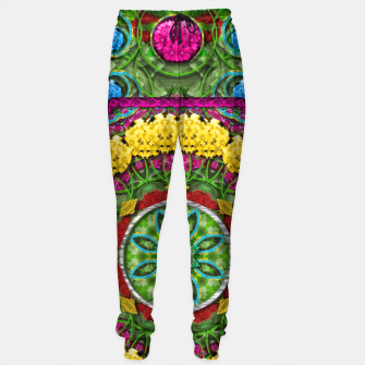 Miniatur  Bohemian chic in fantasy style Sweatpants, Live Heroes