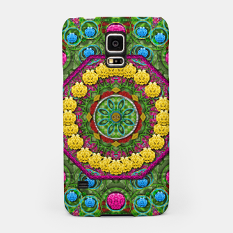 Miniatur  Bohemian chic in fantasy style Samsung Case, Live Heroes