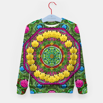 Miniatur  Bohemian chic in fantasy style Kid's Sweater, Live Heroes