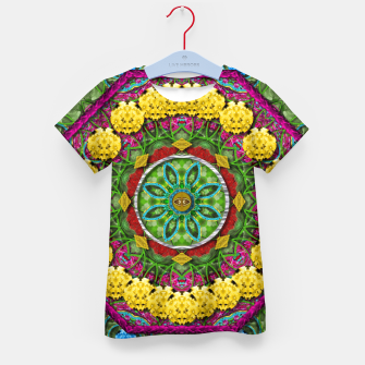 Miniatur  Bohemian chic in fantasy style Kid's T-shirt, Live Heroes