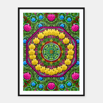 Miniatur  Bohemian chic in fantasy style Framed poster, Live Heroes