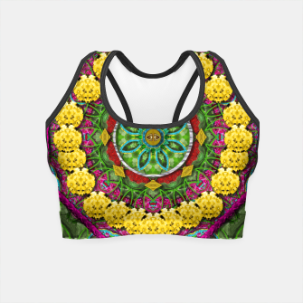 Miniatur  Bohemian chic in fantasy style Crop Top, Live Heroes