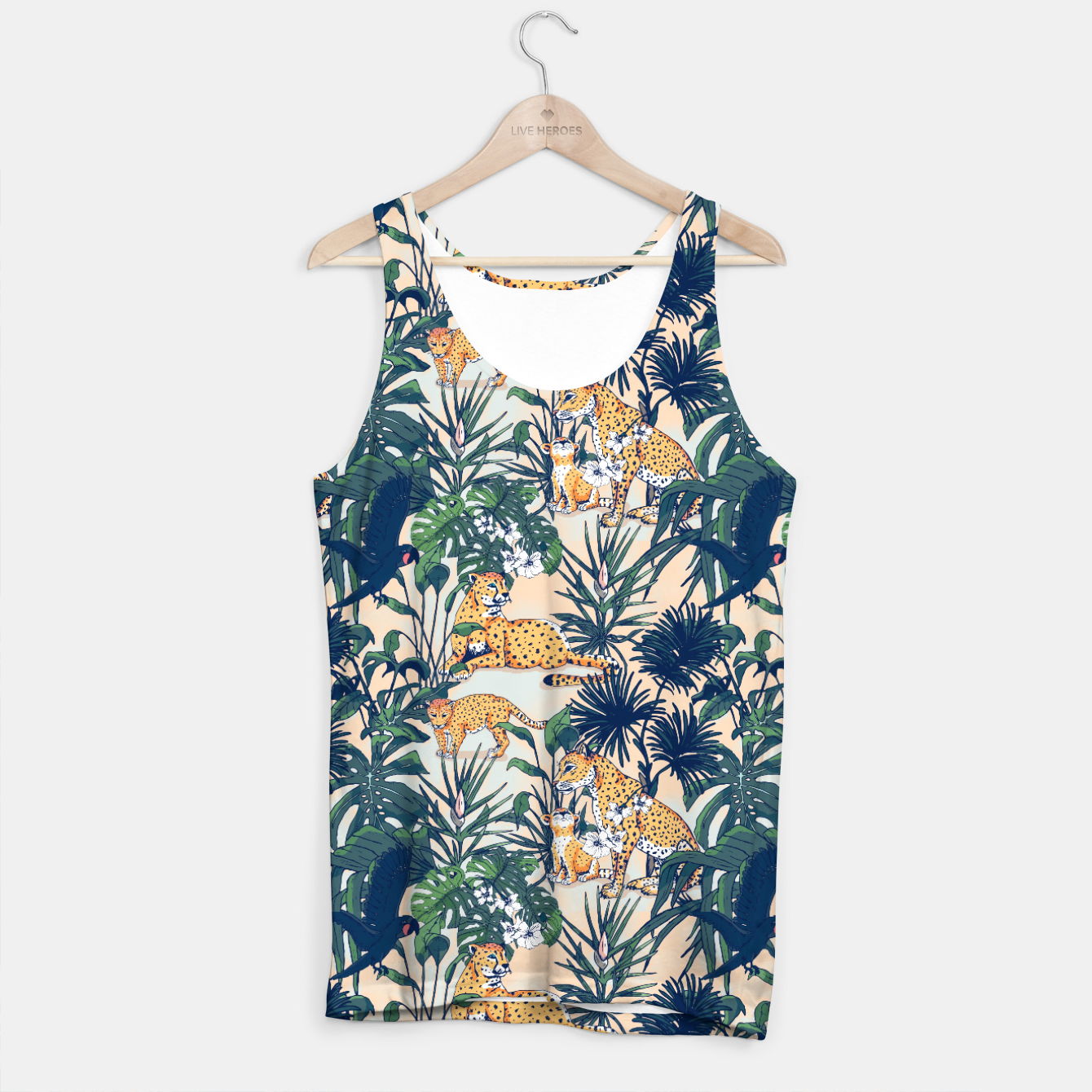 Image of Mother nature in the rainforest Camiseta de tirantes - Live Heroes