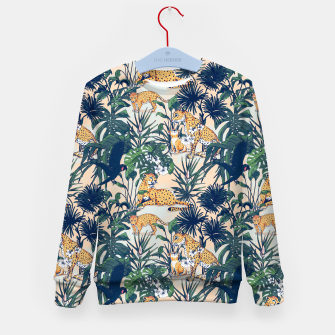 Imagen en miniatura de Mother nature in the rainforest Sudadera para niños, Live Heroes