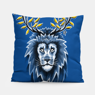 Thumbnail image of Deer Lion Coussin, Live Heroes
