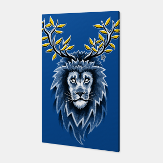 Thumbnail image of Deer Lion Toile, Live Heroes