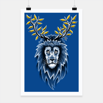Thumbnail image of Deer Lion Affiche, Live Heroes
