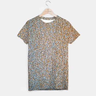 Thumbnail image of Steel Metal Rust Pattern T-shirt, Live Heroes