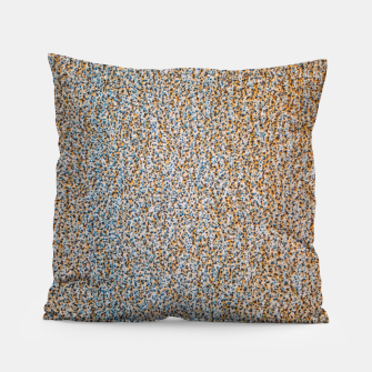Thumbnail image of Steel Metal Rust Pattern Pillow, Live Heroes