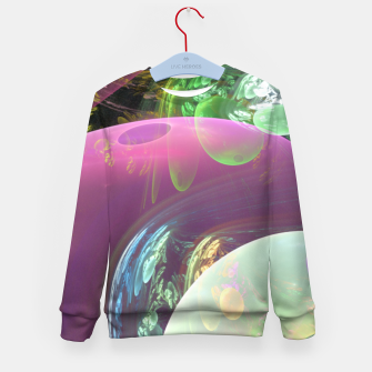 Thumbnail image of Creation of the Abstract Rainbow Galaxy Kid's Sweater, Live Heroes