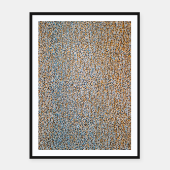 Thumbnail image of Steel Metal Rust Pattern Framed poster, Live Heroes