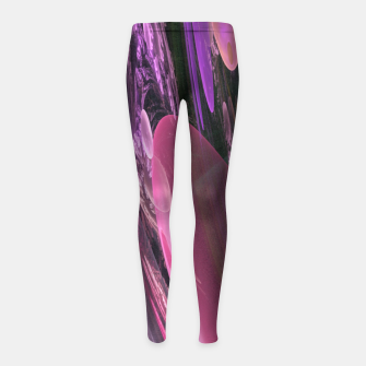 Thumbnail image of Creation of the Abstract Rainbow Galaxy Girl's Leggings, Live Heroes