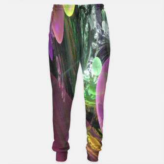 Thumbnail image of Creation of the Abstract Rainbow Galaxy Sweatpants, Live Heroes