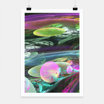 Thumbnail image of Creation of the Abstract Rainbow Galaxy Poster, Live Heroes