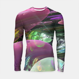 Thumbnail image of Creation of the Abstract Rainbow Galaxy Longsleeve Rashguard , Live Heroes