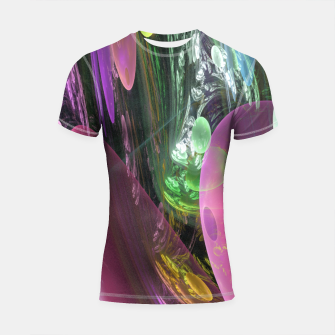 Thumbnail image of Creation of the Abstract Rainbow Galaxy Shortsleeve Rashguard, Live Heroes