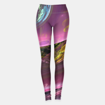 Thumbnail image of Creation of the Abstract Rainbow Galaxy Leggings, Live Heroes