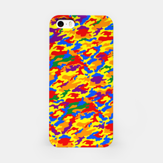 Miniatur Homouflage Gay Stealth Camouflage iPhone Case, Live Heroes