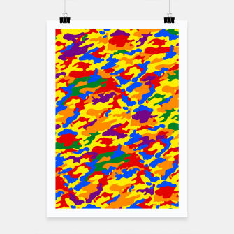 Miniatur Homouflage Gay Stealth Camouflage Poster, Live Heroes
