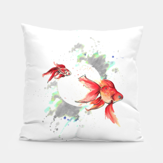 Miniatur fish fishy Coussin, Live Heroes