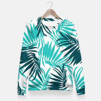Thumbnail image of Tropical Forever Fitted Waist Sweater, Live Heroes