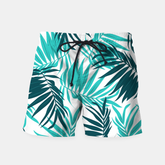Thumbnail image of Tropical Forever Swim Shorts, Live Heroes