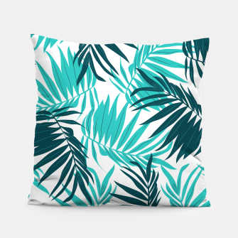 Thumbnail image of Tropical Forever Pillow, Live Heroes