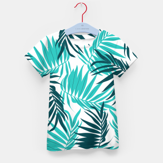 Thumbnail image of Tropical Forever Kid's T-shirt, Live Heroes