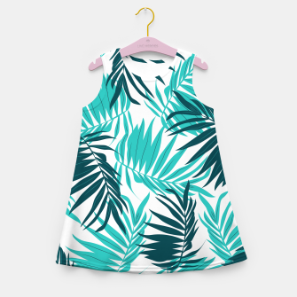 Thumbnail image of Tropical Forever Girl's Summer Dress, Live Heroes